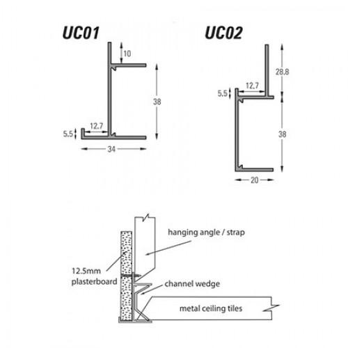 Suspended Ceiling Trims | Qic Trims Ltd